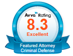 Featured Criminal Attorney, Excellent Rating