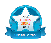 Selected as an Avvo Clients' Choice Attorney based on actual client reviews.